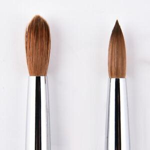 #8/#10/#12#/#14/#16 Kolinsky Hair Sable Brushes Acrylic Nail Brush Nail Art Tool