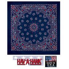 Made in USA Rosso,Bianco e Blu Bandana America Motivo Cachemire Sciarpa Sciarpa