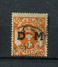 Danzig Dienst Nr. 27 gestempelt, geprüft Infla  (D840)