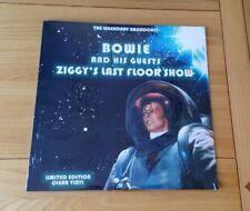 David Bowie Ziggy's Last Floor Show 2017 Euro LP Clear Vinyl Classic Rock New