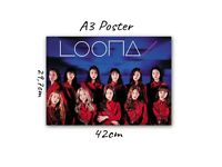 POSTER LOONA (A3) KPOP