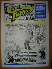 CARD TIMES MAGAZINE FORMERLY CIGARETTE CARD MONTHLY No 80 JULY / AUGUST 1996