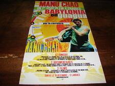 MANU CHAO - PETITE PUBLICITE BABYLONA EN GUAGUA !!