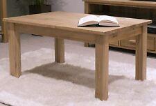 Nero solid oak furniture coffee table