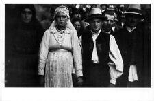 Romania 1938 Wedding photo by John Phillips Early Photography Art POSTCARD 4x6