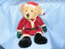 Russ Berrie Teddy Bear Kris Santa 1817 Collectable RARE Present Gift Christmas