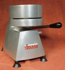 Sirman Stainless Steel 6� Burger Press (Used) Heavy Duty Table Top Commercial