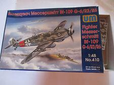FIGHTER MESSERSCHMITT BF-109 G-6/R3/R6 KIT MONTAGGIO UM SCALA 1:48