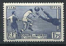FRANCE TIMBRE NEUF  N° 396 ** COUPE MONDIALE DE FOOTBALL 1938