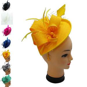 Finecy In - Ladies Women Wedding Party Race Headband Flower Hat Fascinator