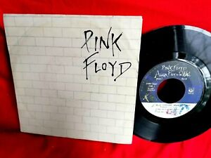 PINK FLOYD Another brick in the wall part 2 45rpm 7' + PS 1979 ITALY EX+