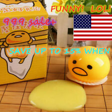 Squishy Puking Egg Yolk Stress Ball With Yellow Goop 2019 US NEW