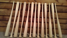 13 baseball bat halves to make American flag or headboard. 34 inch bats DIY