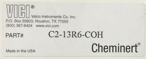 VICI Cheminert C2-13R6-COH Rotor Seal for HPLC MS Port in Factory Packaging