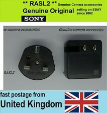 Original SONY USB Charger AC Adaptor AC-UB10c 2 Pin With UK 3 Pin Adapter ACUB10