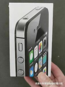 Apple iPhone 4s 16GB Black/white (Unlocked) (CDMA + GSM) IOS6 Sealed Smartphone