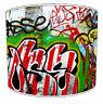 MODERNE URBAIN RUE Art Graffiti Style Lumière Plafond nuances ou table abat-jour
