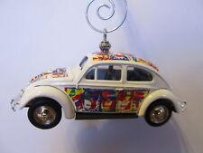 Custom  Vintage Cambells Soup 100Th Aniversary 1952 Volkeswagon Beetle Ornament