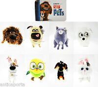 Peluche Pets Vida De Animales Originales Terciopelo Mal Universal 21-42 CM