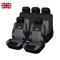 Car Seat Covers For Truck Suv Van - Universal Full Set Auto Protectors 5 Colors