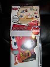 DISNEY CARS 2: 25 BiG Wall Stickers  LIGHTNING MCQUEEN Room Decor Decals MATER