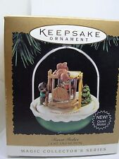 1995 #7, FOREST FROLICS,  HALLMARK MAGIC KEEPSAKE ORNAMENT