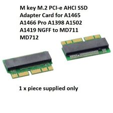 M key M.2 PCI-e AHCI SSD Adapter Card for 2013 2014 2015 Laptop A1465 A1466 Pro