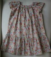 BONPOINT GIRLS STRAWBERRY LIBERTY PRINT EULALIA DRESS 4 YEARS