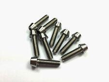 Titanium Bolts M5 18mm Tapered Head Grade 5 Ti (M5x18mm) Allen Key Slot