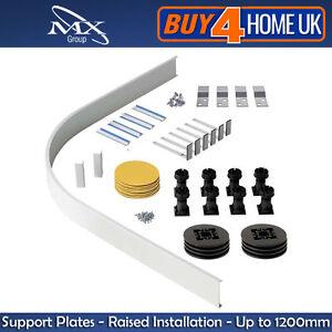 Easy Plumb Riser Kit, Plinth & Feet for Stone Quadrant Shower Trays up to 1200mm
