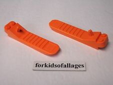 2 Lego Brick Block Separator Tool ORANGE Remover Disconnector Pry Removal Prying