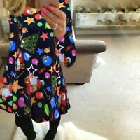 Knit Women Nice Dress Colorfull Party Loose Black Gift Winter Fall Spring Summer