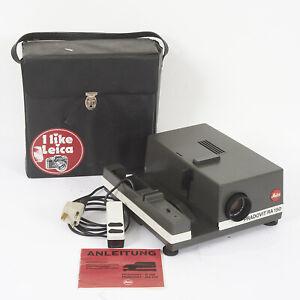 LEITZ PRADOVIT RA 150 35mm GERMAN SLIDE PROJECTOR 90mm f2,5 LENS