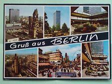 Berlin Sradtansicht AK um 1970