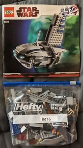 LEGO 8036 Separatist Shuttle - Complete with Minifigs - Instructions w/ Decals