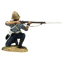 BRITAINS SOLDIERS Zulu Wars 20188 24th Foot Kneeling Firing in Shirtsleeves