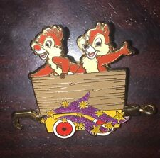 Disney Pin Train Mystery Tin Collection Chip And Dale Car Magical