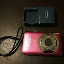 Canon PowerShot ELPH 100 HS Digital Camera w Charger 12.1 MP Pink