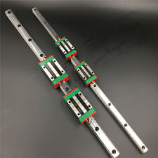20mm L800mm Linear Rail Guide HGR20 & 2pc Rail Block HGH20CA Replace for HIWIN