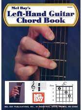 William Bay Left-Hand Guitar Chord Learn to Play MUSIC BOOK Left-Handed Guitar