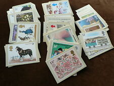 Royal Mail PHQ Stamp Cards, 1980, 1981, 1982, 1983 Mint, Sold in Individual Sets