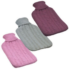2L Knitted Hot Water Bottle Winter Bed Warmer (COVER ONLY) New Lower Price