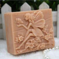 Rectangle Fairy Mold Silicone Soap Bar Mold Handmade Craft Candle Resin Mold