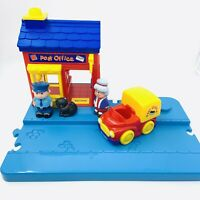Early Learning Centre ELC Happyland Post Office Toy Bundle Cat Road Base Free P