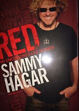 RED MY UNCENSORED LIFE IN ROCK BY SAMMY HAGAR  *SIGNED*FIRST ED*