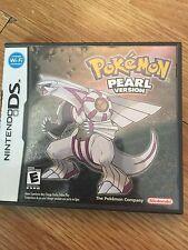 Pokemon: Pearl Version Nintendo DS Game Cib With Manual NG3