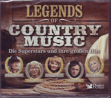 Legends of COUNTRY music-Reader 's Digest 5 CD BOX Neuf/Neuf dans sa boîte 2016