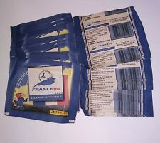 panini Francia 98 sticker album collection bags envelope packets new