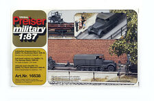 PREISER MILITARY 16538 1/87 HO H0 KIT Half-Track vehicle SdKfz 11 , GERMAN REICH