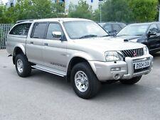 2004/04 Mitsubishi L200 Warrior Double Cab Pick Up